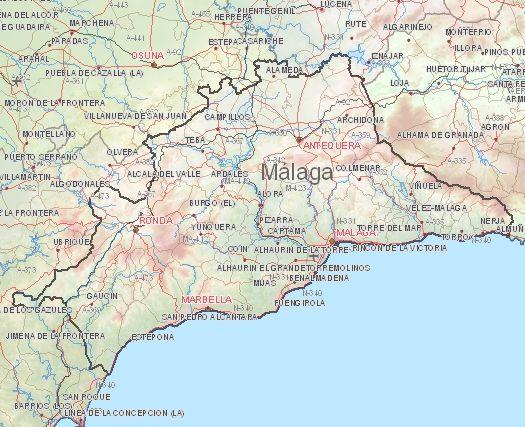 Weersverwachting Málaga volgende week